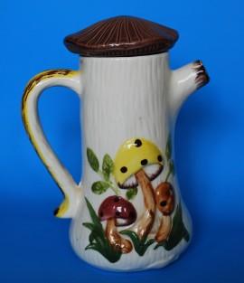 mushroom coffee pot